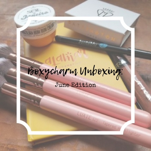 Boxycharm Unboxingjune_canva